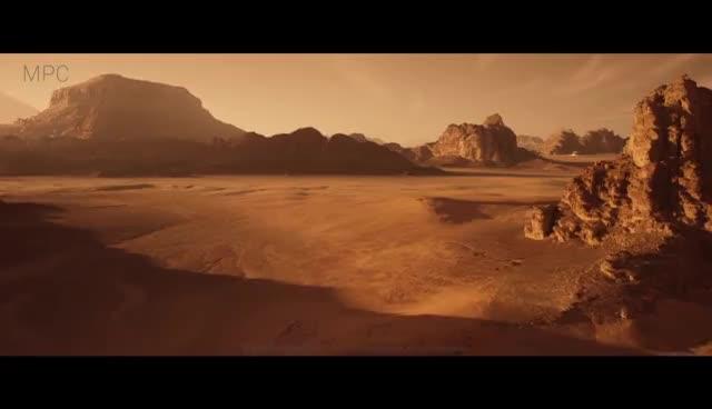 MPC The Martian VFX breakdown GIFs