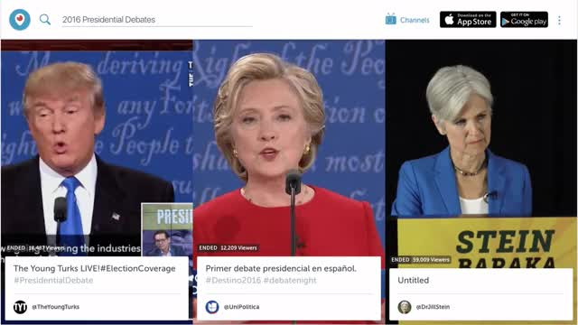 Watch A New Periscope.tv – Periscope – Medium GIF on Gfycat. Discover more donald trump, hillary clinton GIFs on Gfycat