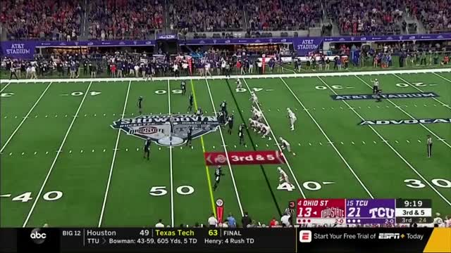 Watch and share Horned Frogs GIFs and Ohio State GIFs by bscaff on Gfycat