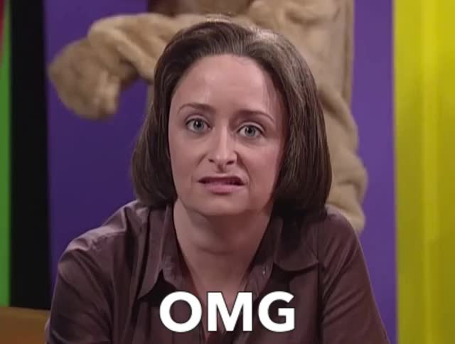 Watch and share Rachel Dratch GIFs and Surprise GIFs by Reactions on Gfycat