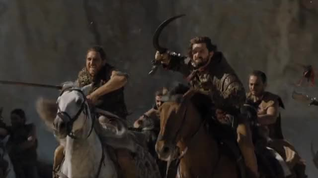 Watch Daario Naharis beheads a Harpy. Game of Thrones Episode 609 GIF on Gfycat. Discover more gameofthrones, hbogameofthrones, michiel huisman GIFs on Gfycat