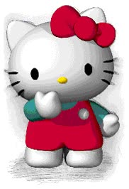 Watch and share Hello Kitty animated stickers on Gfycat
