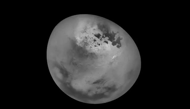 Watch and share Summer Clouds On Saturn's Moon Titan GIFs on Gfycat