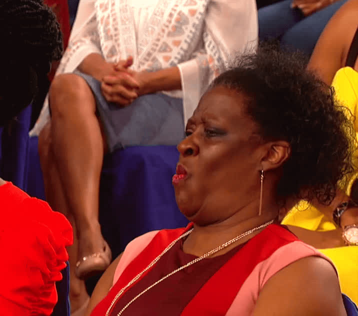 audience member, disapproval, ew, nope, uh uh, wendy williams, what, wtf, WTF GIFs