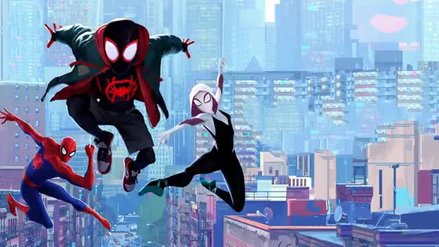 Watch and share Spiderman Into The Spiderverse 2 GIFs on Gfycat