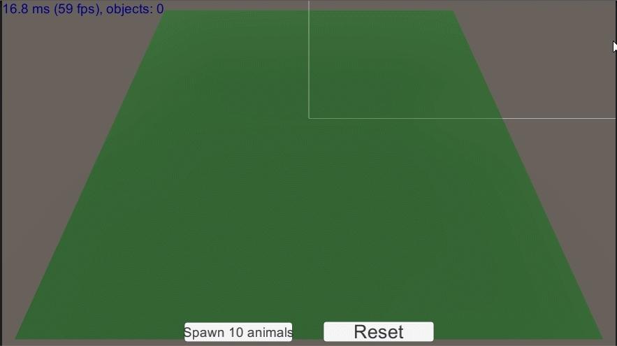 Unity3D benchmark GIFs