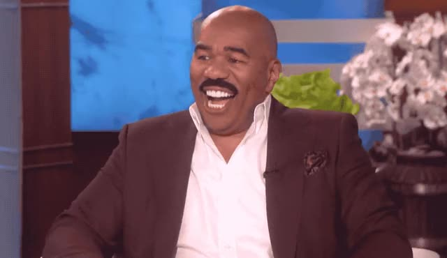 Watch and share Steve Harvey GIFs and Awesome GIFs by Reactions on Gfycat