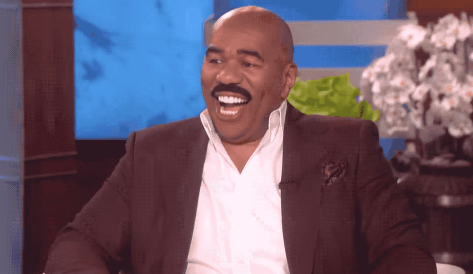 awesome, celebrate, clap, dance, dancing, ellen, excited, funny, great, happy, harvey, lol, sexy, show, smile, steve, victory, woohoo, yay, yeah, Steve Harvey is excited GIFs