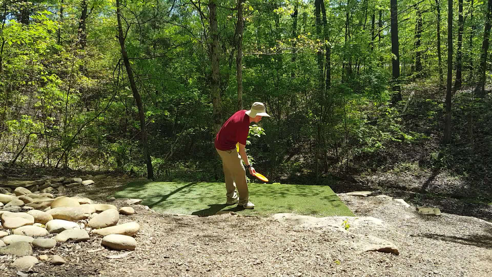discgolf, form check week 4 sexton drill 1 GIFs