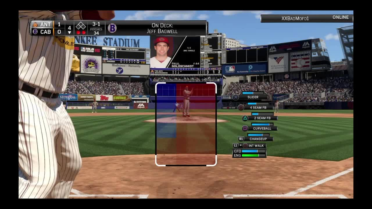 diamonddynasty, mlbtheshow, ps4, On Deck message blocks pitch meter GIFs