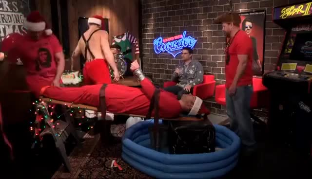 CROWDER WATERBOARDED LIVE FOR CHRISTMAS!