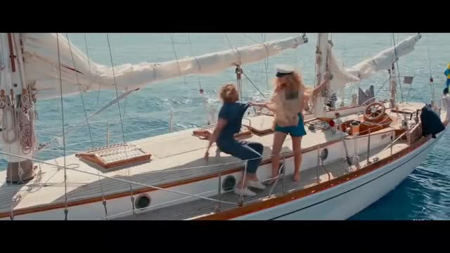 Watch Lily James Josh Dylan Dancing GIF on Gfycat. Discover more LilyJames, cher, clip, mammamia, movie, song, trailer GIFs on Gfycat
