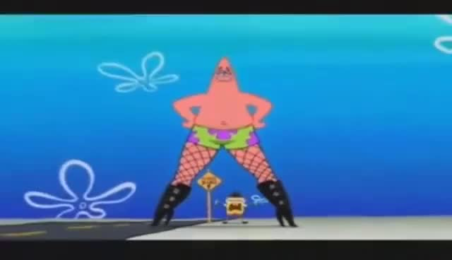 Watch and share Patricio Bailando,bob Esponja La Película, Soy Un Cacahuate GIFs on Gfycat