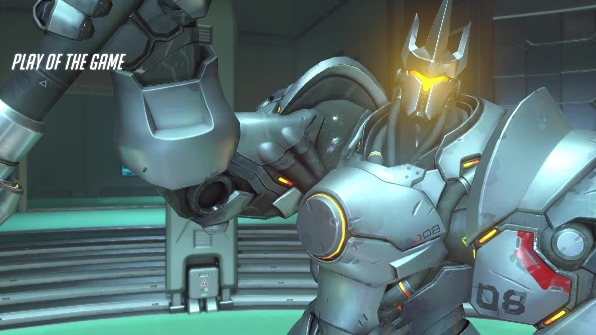 overwatch, potg, reinhardt, big boy GIFs