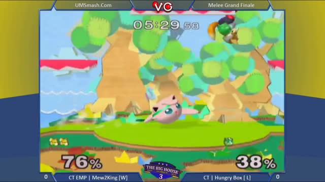Watch The Big House 3 - CT | Mew2King (Fox) Vs. CT | Hungry Box (Jigglypuff) SSBM Grand Finals - Melee GIF by ahampster (@ahampster) on Gfycat. Discover more melee, smashgifs, tournament GIFs on Gfycat