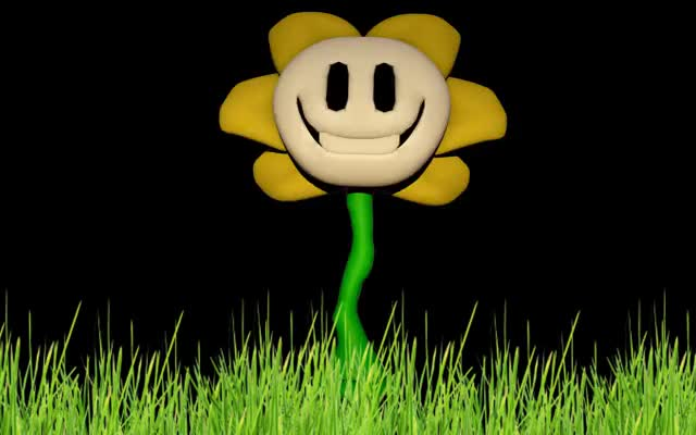 Watch Flowey V2 Model GIF GIF by @-pupgaus on Gfycat. Discover more Undertale, awesome, game GIFs on Gfycat