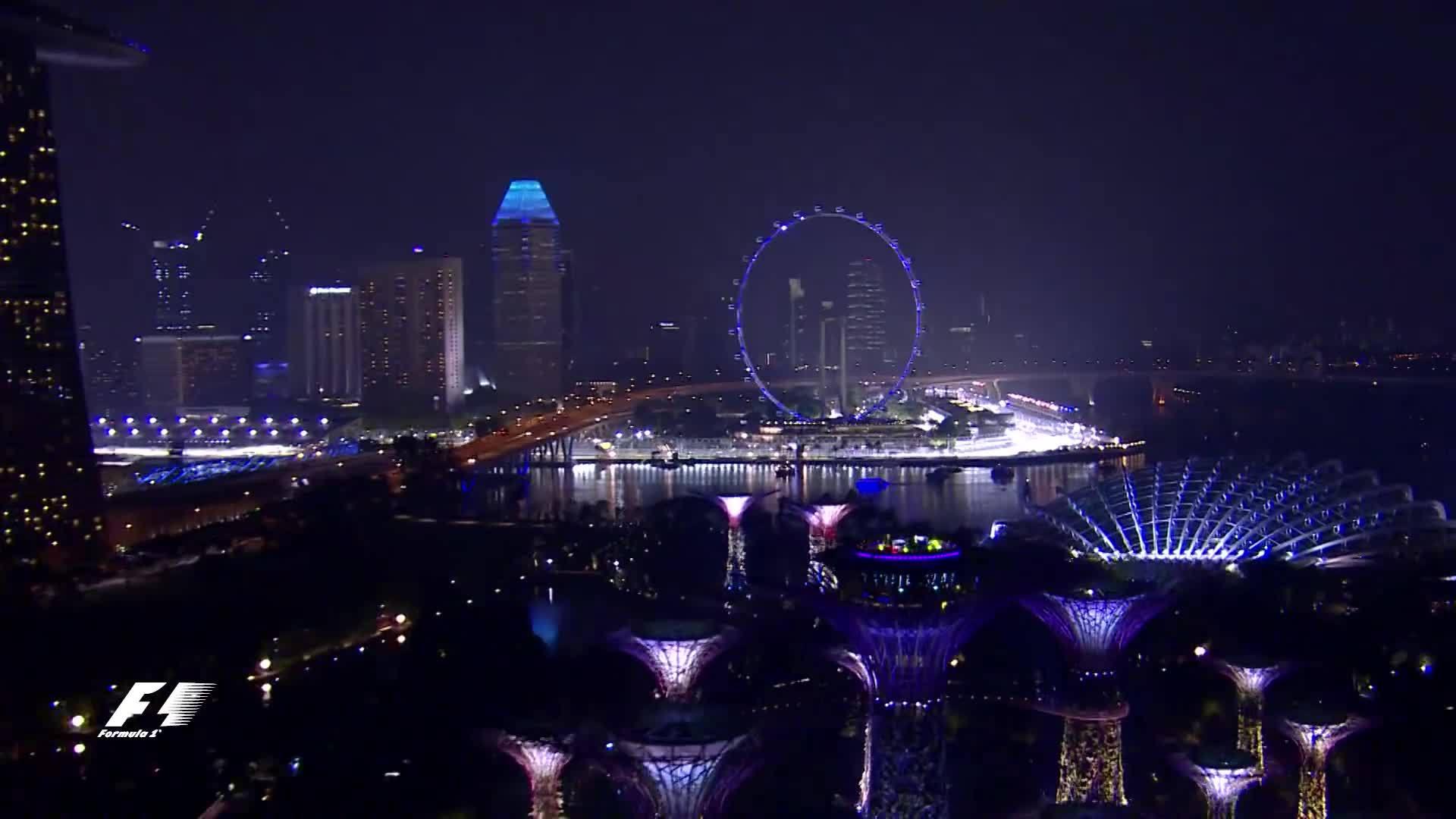 f1, sport, sports, Singapore Skyline GIFs