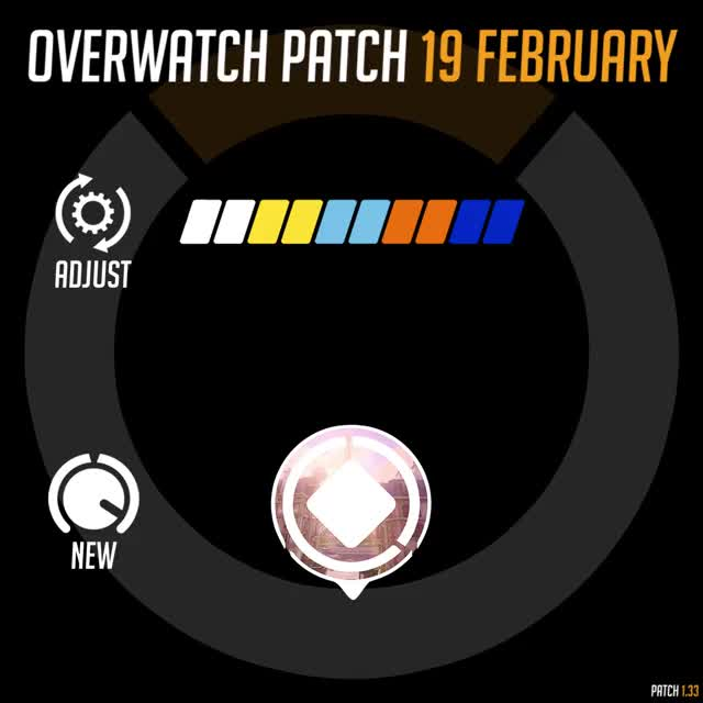 Watch Overwatch Patch 19th February Rundown GIF by itsjieyang (@its_southpaw) on Gfycat. Discover more armour, health, highlight, overwatch, shields GIFs on Gfycat