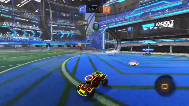 Watch Kevin Holt - How was this not (1) a backwards goal, (2) an upside down goal, or (3) a bicycle goal? #NintendoSwitch replay #RocketLeague GIF on Gfycat. Discover more Kevin Holt, RocketLeague GIFs on Gfycat