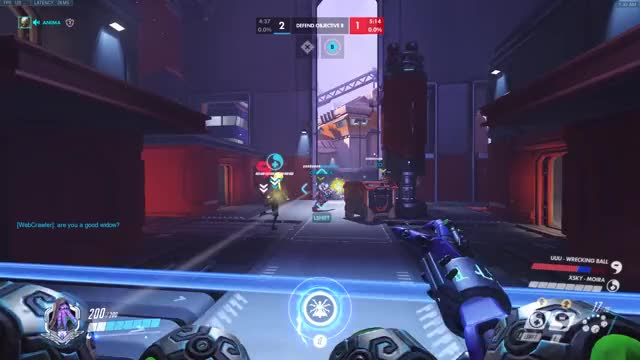 Watch Huge Grav! GIF by @aniima on Gfycat. Discover more ana, highlight, overwatch GIFs on Gfycat