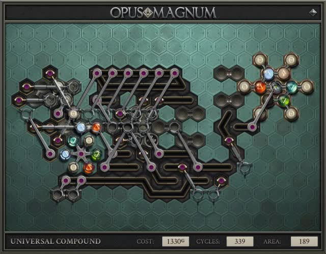 Watch and share Opus Magnum - Universal Compound (2017-11-19-03-14-58) GIFs on Gfycat