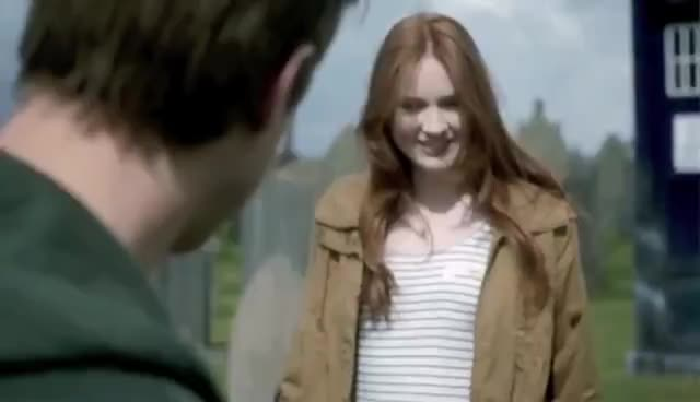 #doctorwho, Amy and Rory 3 GIFs