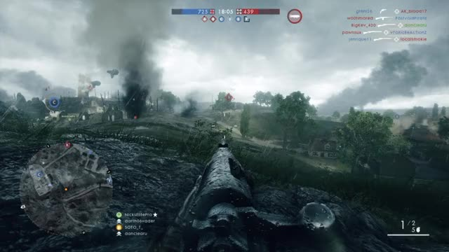 Watch and share Battlefield 1 Using The Force! GIFs by dabattlenoob on Gfycat