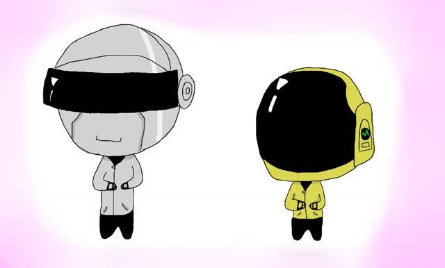 Watch and share Daft Punk Gif By MizfitJess GIFs on Gfycat