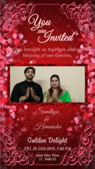 Watch and share Wedding Card For Friends GIFs on Gfycat