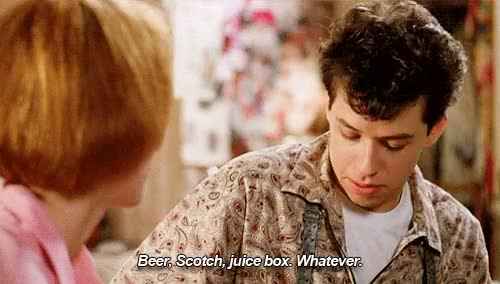 Watch and share Jon Cryer GIFs and Alcohol GIFs on Gfycat