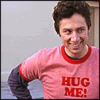 Watch and share JD Scrubs Hug Shirt GIFs on Gfycat