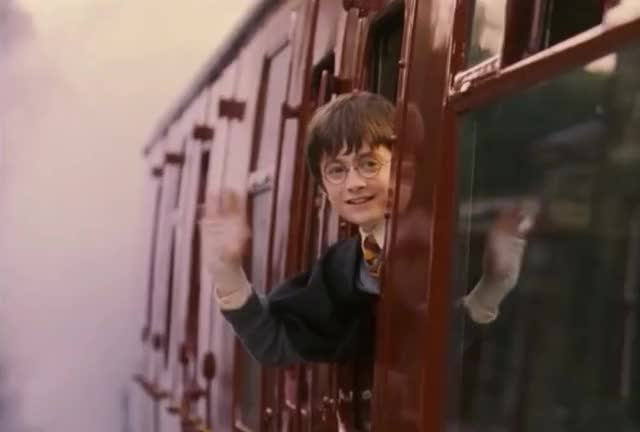 Watch this harry potter GIF by GIF Queen (@ioanna) on Gfycat. Discover more GIF Brewery, adios, birthday, bye, cu, end, farewell, gif brewery, goodbye, hagrid, hand, harry, later, philosopher, potter, see, stone, sweet, train, wave, waving GIFs on Gfycat