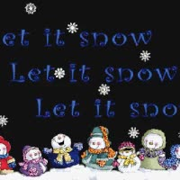 Watch and share Glitter Snowmen-Let It Snow GIFs on Gfycat