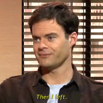 Watch this bill hader GIF on Gfycat. Discover more bill hader, comedy, funny, gif, gif set, holy shit, omfg can you imagine, saturday night live, snl, trainwreck GIFs on Gfycat