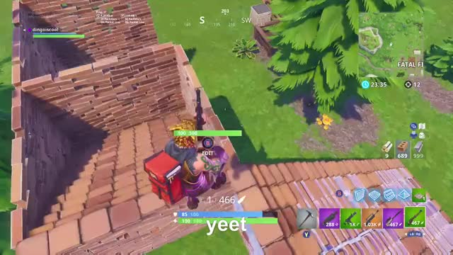 Watch this GIF by Gamer DVR (@xboxdvr) on Gfycat. Discover more FortniteBattleRoyale, dingoiscool, xbox, xbox dvr, xbox one GIFs on Gfycat