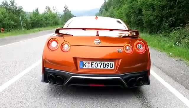 Watch and share 2017 Nissan GTR Launch Control 0-60 Test GIFs on Gfycat