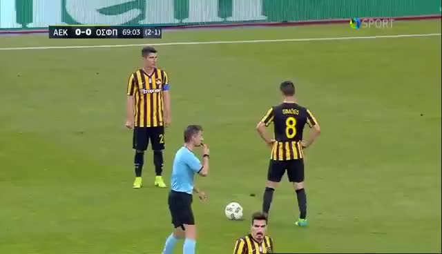 Watch and share Highlights: ΑΕΚ - Ολυμπιακός 0-1 / Highlights: AEK - Olympiacos 0-1 GIFs on Gfycat