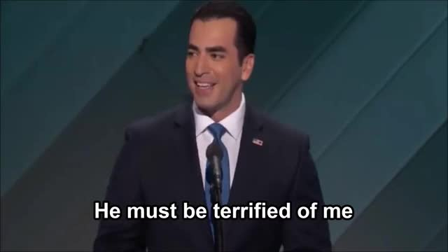 Watch He must be terrified @ DNC 2016 GIF on Gfycat. Discover more DNC2016, demconvention GIFs on Gfycat