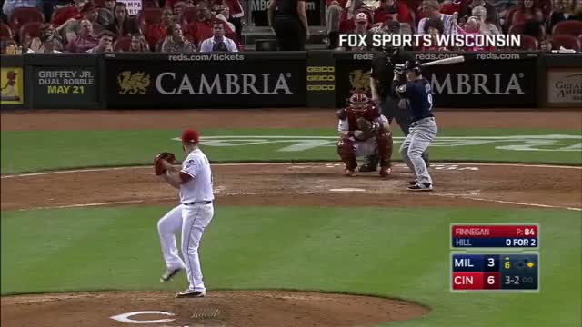 Watch and share Must C: Hill Belts Three Homers GIFs by julienassouline on Gfycat
