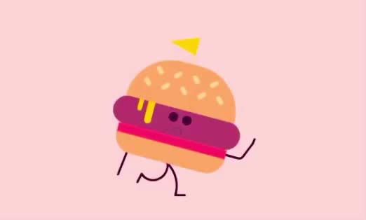 away, burger, bye, cu, farewell, goodbye, sad, see, soon, walk, you, Sad burger GIFs