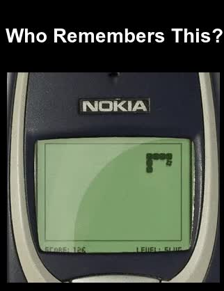 Watch Nokia 3310 Snake game gif GIF on Gfycat. Discover more related GIFs on Gfycat