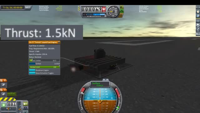 Watch and share KSP Friction Test 1 GIFs by stratzenblitz75 on Gfycat
