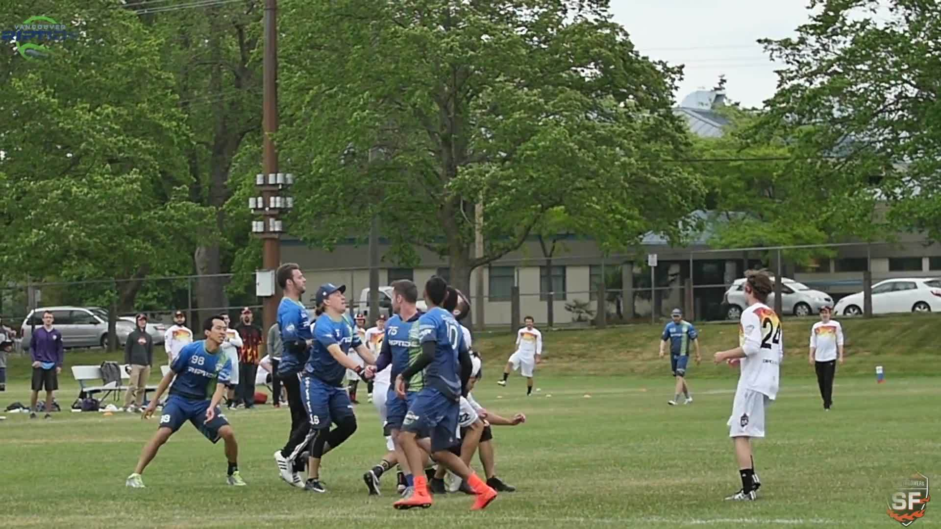 audl, ultimate, vancouver riptide, San Francisco Flame Throwers @ Vancouver Riptide: Week 7 Highlights GIFs