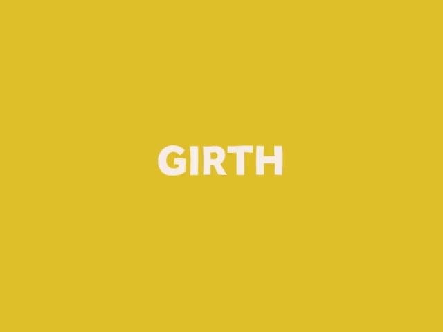 Watch and share Word GIF #8 - Girth! GIFs on Gfycat