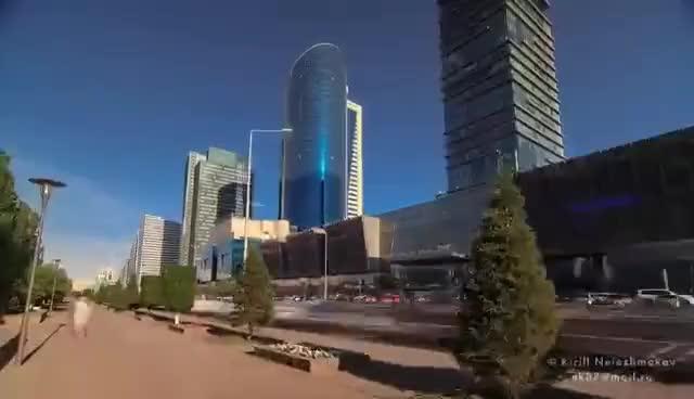 Watch and share Astana, Kazakhstan. Timelapse & Hyperlapse. Астана, Казахстан GIFs on Gfycat
