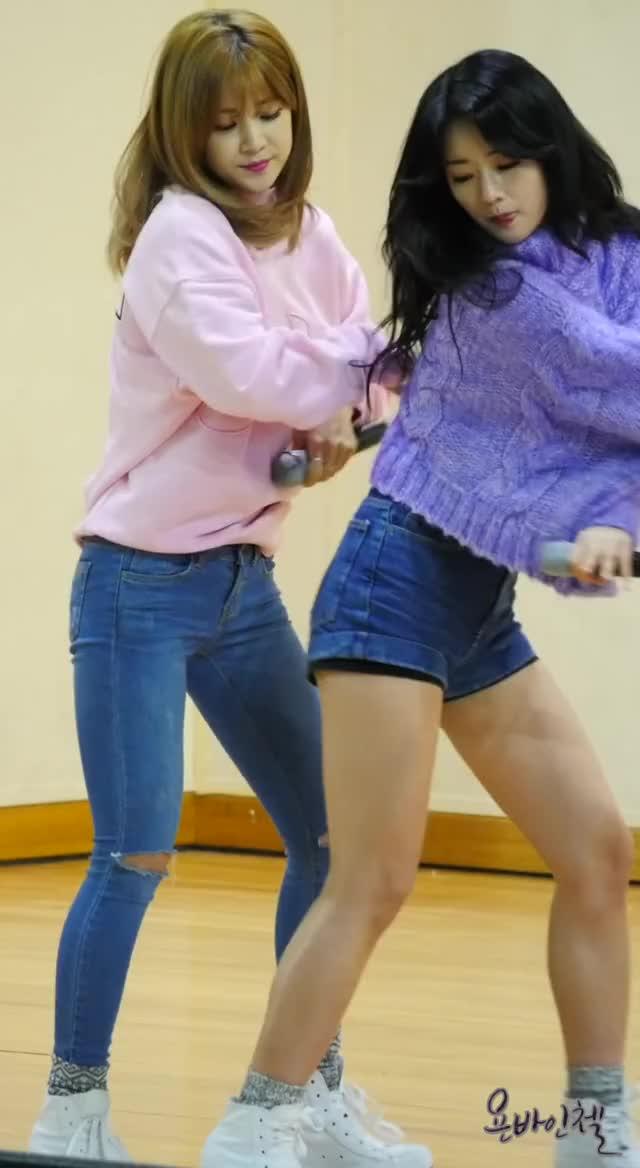 Apink Chorong Thump Thump Thump