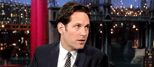 Watch and share Interviews GIFs and Paul Rudd GIFs on Gfycat