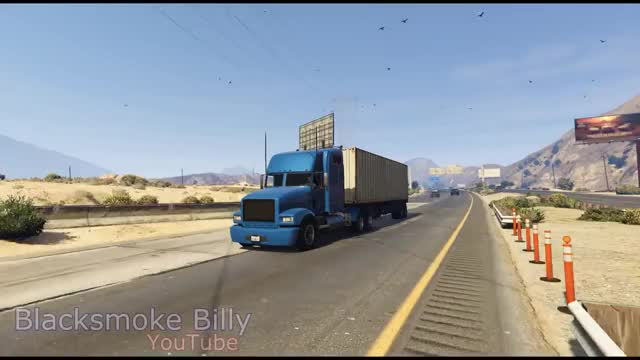 Watch GTA  Physics GIF on Gfycat. Discover more Gta, Semi-trailer Truck (Product Category), gamephysics GIFs on Gfycat