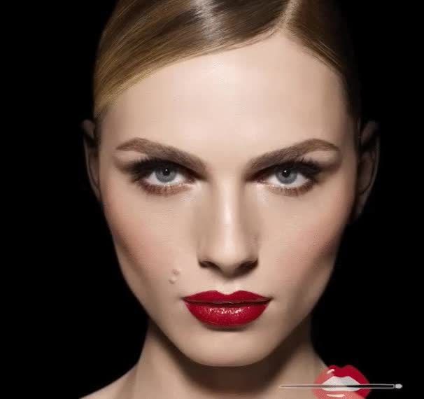 Watch and share Andreja Pejić's Make Up For Ever Campaign Is Out GIFs on Gfycat