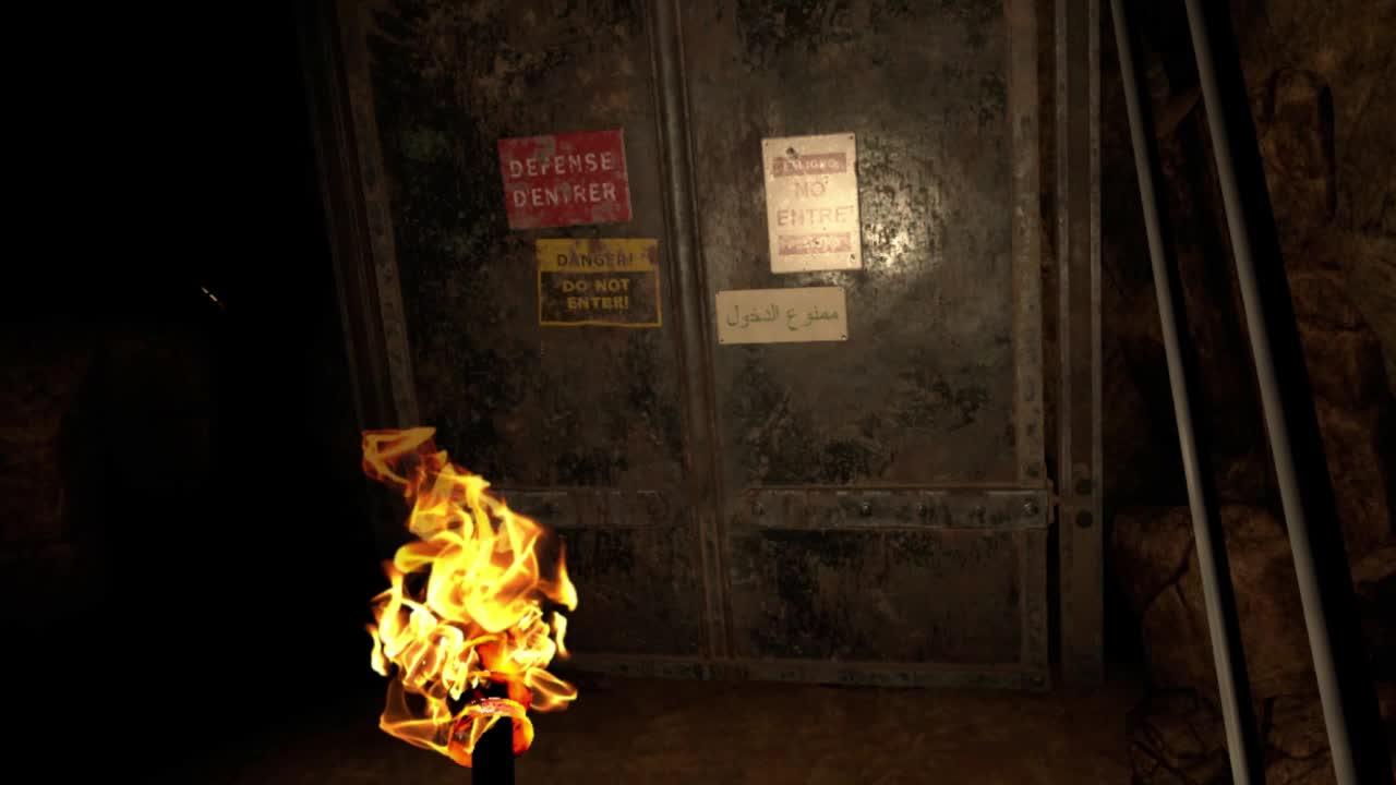 Horror, Oculus, PSVR, SteamVR, VR, Vive, wolfandwood, Opening The Tomb - The Exorcist: Legion VR GIFs